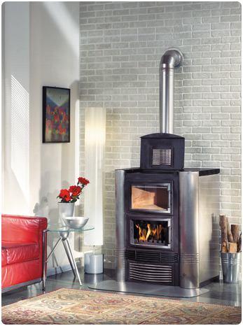 Kamini na centralno grijanje plinski pe i kaldea na drva - Termostufe combinate pellet e legna prezzi ...