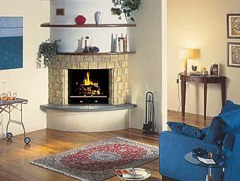 hidro sistem kamini za grijanje na plin i drva kombinirani kamin za